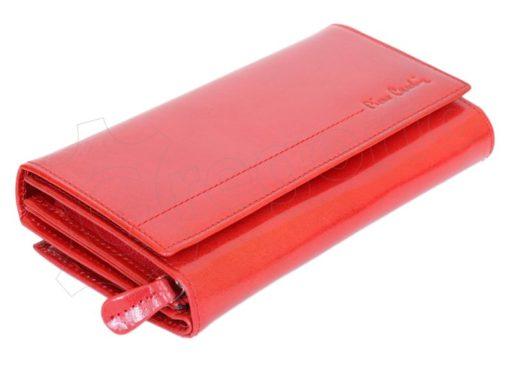 Pierre Cardin Women Leather Wallet/Purse Dark Red-5996