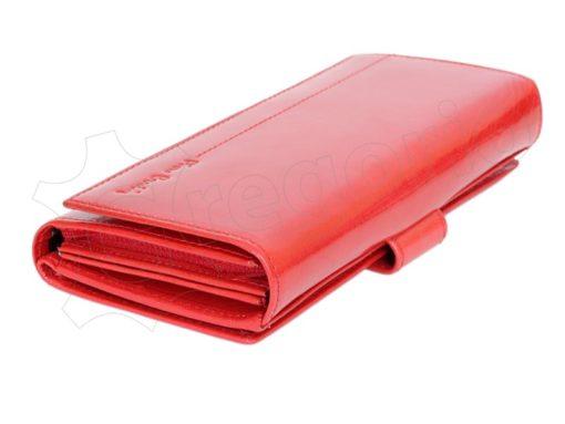 Pierre Cardin Women Leather Wallet/Purse Dark Red-6003
