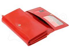 Pierre Cardin Women Leather Wallet/Purse Dark Red-5999