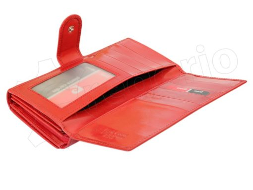 Pierre Cardin Women Leather Wallet/Purse Dark Red-5995