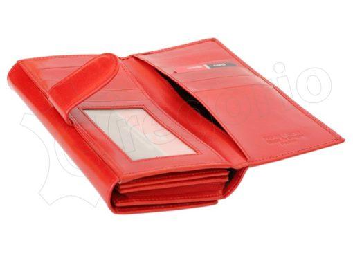 Pierre Cardin Women Leather Wallet/Purse Dark Red-6008