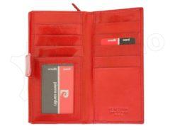 Pierre Cardin Women Leather Wallet/Purse Dark Red-6005