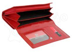 Pierre Cardin Women Leather Wallet/Purse Dark Red-6002