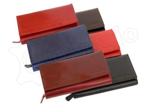 Pierre Cardin Women Leather Purse Blue-5978