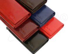 Pierre Cardin Women Leather Purse Blue-5974