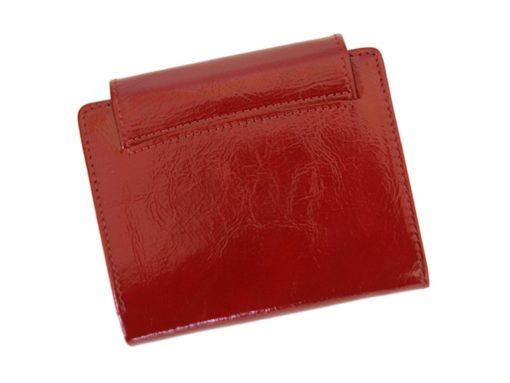 Giovani Woman Leather Wallet Swarovski Line Red-4396