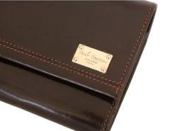 Paolo Bantacci Women Leather Wallet Black-4507