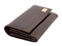 Paolo Bantacci Women Leather Wallet Black-4513