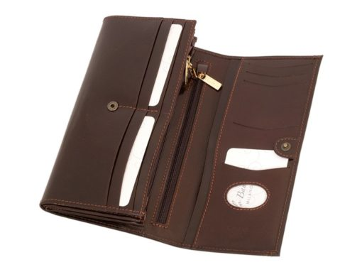 Paolo Bantacci Women Leather Wallet Black-4506
