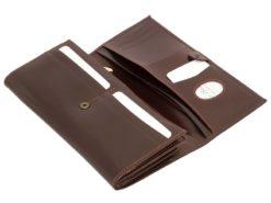 Paolo Bantacci Women Leather Wallet Black-4517