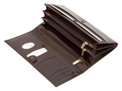 Paolo Bantacci Women Leather Wallet Black-4514