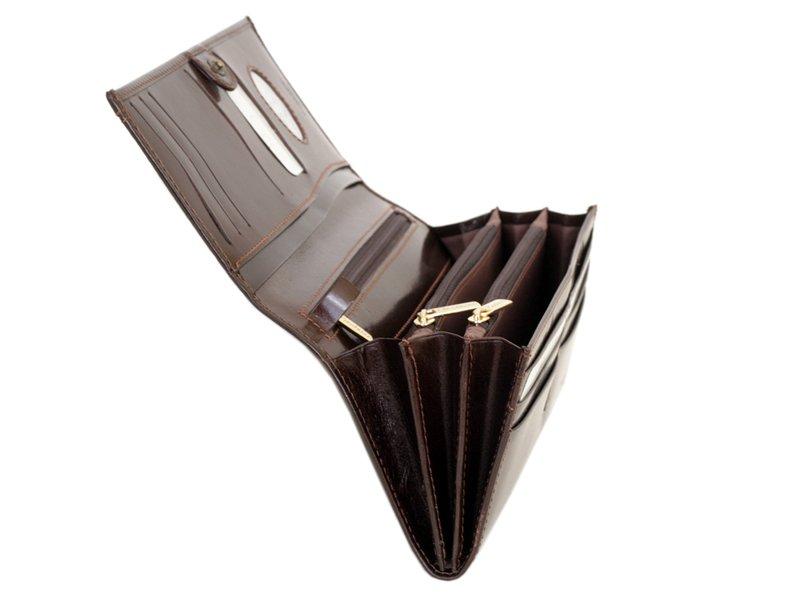 Paolo Bantacci Women Leather Wallet Black-4508