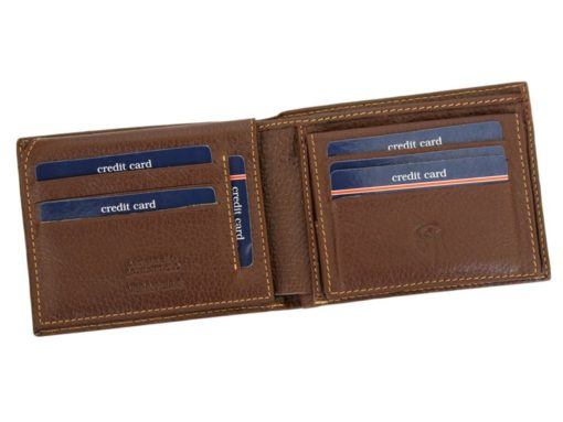 Gai Mattiolo Man Leather Wallet Brown-6482