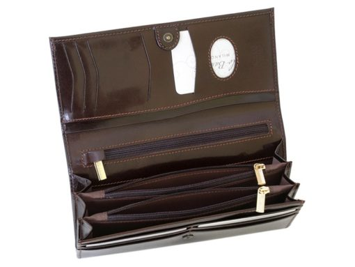 Paolo Bantacci Women Leather Wallet Black-4503
