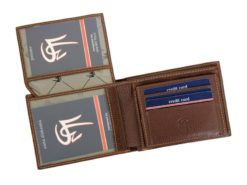 Gai Mattiolo Man Leather Wallet Black-6490