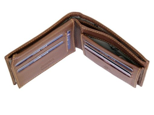 Gai Mattiolo Man Leather Wallet Brown-6481
