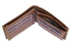 Gai Mattiolo Man Leather Wallet Black-6494