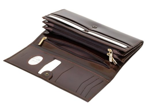 Paolo Bantacci Women Leather Wallet Black-4510