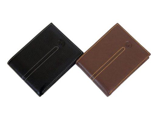 Gai Mattiolo Man Leather Wallet Black-6487
