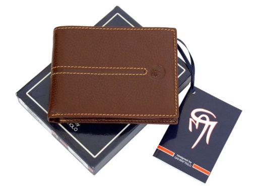Gai Mattiolo Man Leather Wallet Brown-6484