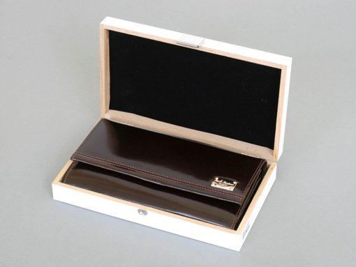 Paolo Bantacci Women Leather Wallet Black-4515