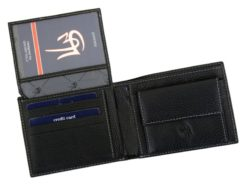 Gai Mattiolo Man Leather Wallet Red-6462