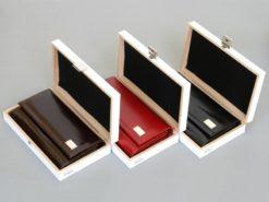 Paolo Bantacci Women Leather Wallet Black-4509