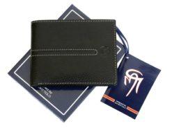 Gai Mattiolo Man Leather Wallet Green-6451