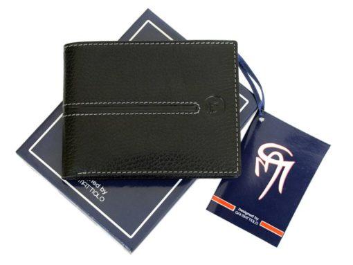 Gai Mattiolo Man Leather Wallet Red-6468