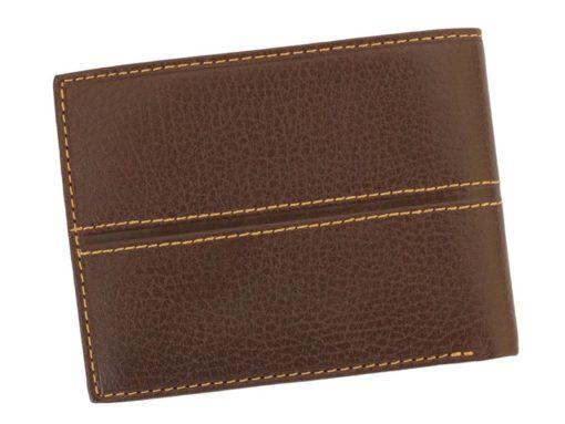 Gai Mattiolo Man Leather Wallet Orange-6589