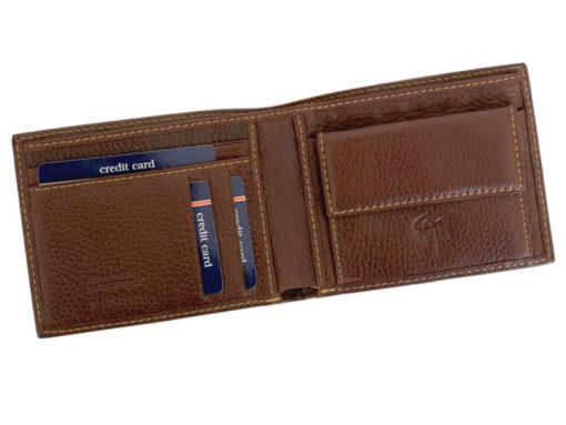 Gai Mattiolo Man Leather Wallet Orange-6584