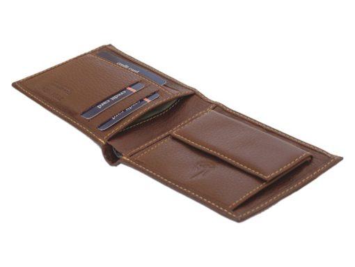Gai Mattiolo Man Leather Wallet Orange-6580