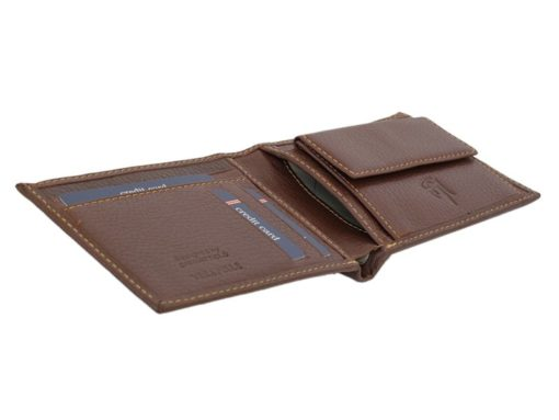 Gai Mattiolo Man Leather Wallet Orange-6591