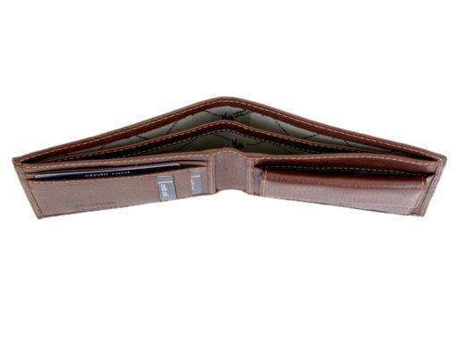 Gai Mattiolo Man Leather Wallet Orange-6588