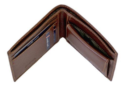 Gai Mattiolo Man Leather Wallet Orange-6586
