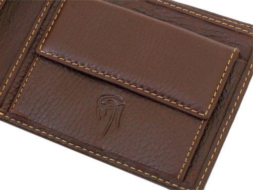 Gai Mattiolo Man Leather Wallet Blue-6510
