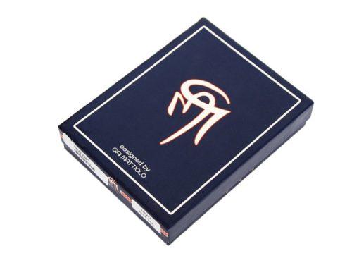 Gai Mattiolo Man Leather Wallet Orange-6592