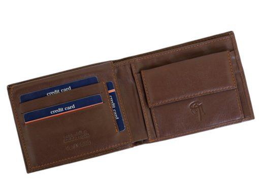 Gai Mattiolo Man Leather Wallet Yellow-6211