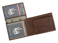 Gai Mattiolo Man Leather Wallet Green-6215