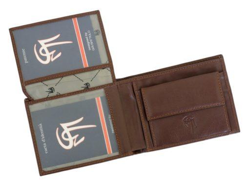 Gai Mattiolo Man Leather Wallet Brown-6243