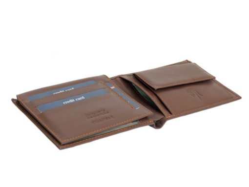 Gai Mattiolo Man Leather Wallet Brown-6250