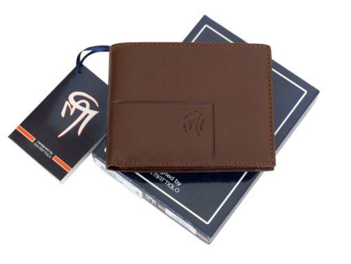 Gai Mattiolo Man Leather Wallet Yellow-6205