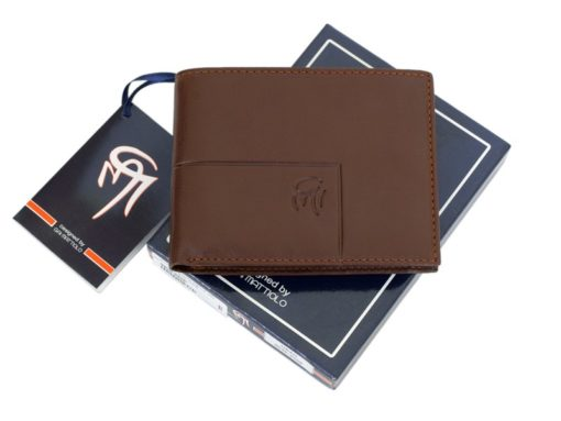 Gai Mattiolo Man Leather Wallet Brown-6247