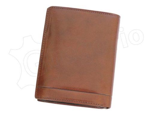 Pierre Cardin Man Leather Wallet Dark Brown-4937