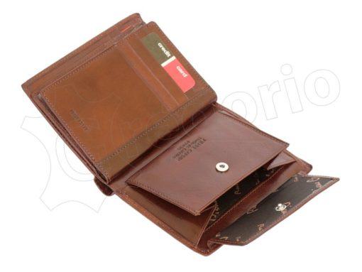 Pierre Cardin Man Leather Wallet Dark Brown-4931
