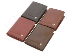 Pierre Cardin Man Leather Wallet Dark Brown-4930