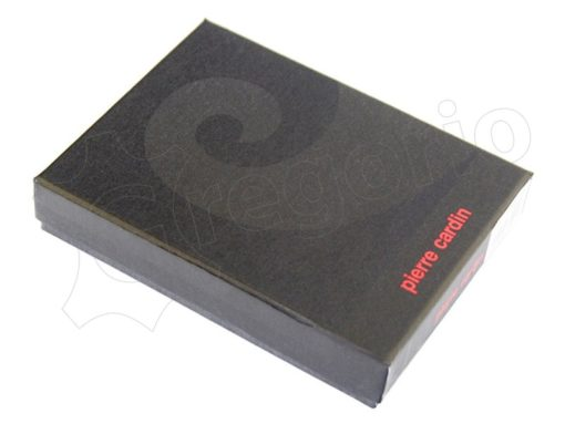 Pierre Cardin Man Leather Wallet Dark Brown-4928