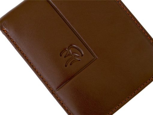 Gai Mattiolo Man Leather Wallet with coin pocket Yellow-6397