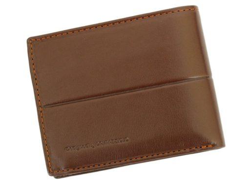 Gai Mattiolo Man Leather Wallet Small size Green-6297