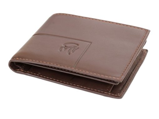 Gai Mattiolo Man Leather Wallet Small size Green-6285